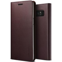 Verus Galaxy Note 8 Case Genuine Leather - Wine Red