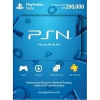 Playstation Network PSN 200 Ribu