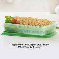 Tupperware Deli Keeper 1pcs - hijau