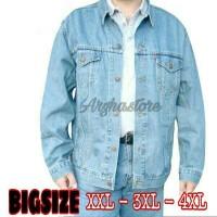 Jual Jaket Jeans Pria Levis - BiGsize - Ukuran Besar -JUMBO (XxL -XxxL) Murah