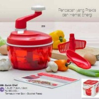 harga Quick Chef Tupperware Tokopedia.com