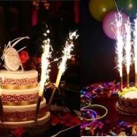 Lilin Ultah Kembang Api / Fireworks Candle / Lilin Mercon