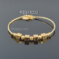 Gelang emas model kotak PZG15003