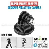 Action Cam Tripod Mount Adapter for GoPro, BRICA B-PRO & Xiaomi Yi