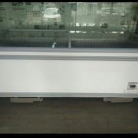 Sliding Curve Glass Freezer Merk AHT (Bekas)