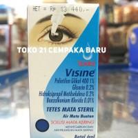 Visine Tears Botol 6ml | Obat Tetes Air Mata Steril Kering 6 ml Visin