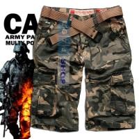 Jual Celana Pendek Cargo Army / Celana Pendek Loreng / Celana Kargo Murah