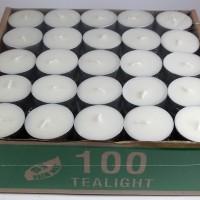 harga 100 Pcs Tea Light / Tealight / Tea Lite Candle / Lilin Aromaterapi Tokopedia.com