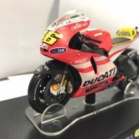Diecast Motor Valentino Rossi 46 Ducati Desmosedici GP 2011 - Rare