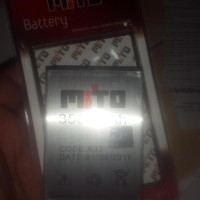 Baterai battery mito A33 original oem 3500mah fantasy o Murah