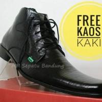 Jual Sepatu Kickers Pantofel Pria Kulit Asli Tali Serat Kayu [TAN] Murah