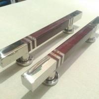 handle pintu stainless minimalis / tarikan dua pintu kupu tarung 33