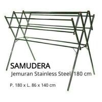 JEMURAN STAINLESS STEEL 180cm termurah Se Tokopedia