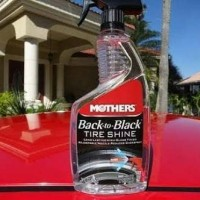 Mothers Back To Black Tire Shine