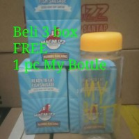 Jual Sosis Ikan Bumbu Kacang FREE My Bottle Murah