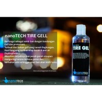 Pure Tire Gell Nanotech Protection Semir Ban Mobil Motor Back To Black