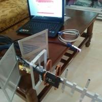 ANTENA YAGI PENGUAT SINYAL 2G/3G/H+ 900-2100 Mhz INDUKSI HP MODEM WIFI