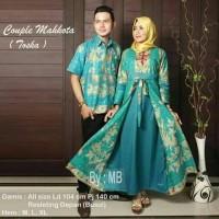harga Sarimbit Batik Gamis Modern Baju Couple Batik Muslim Modern Gamis Tokopedia.com
