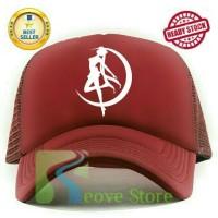harga Topi Trucker Sailor Moon Baseball Snapback - Reove Store Tokopedia.com