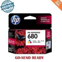 HP 680 ORIGINAL ink colour / warna printer 2135 3635 3835 4675 1115