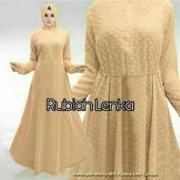 harga Baju Busana Muslim Gamis Remaja Modern Cdx Maxi Rubiah Lenka Mustard Tokopedia.com