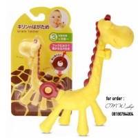 Infant Silicone Toys Giraffe Teether for Baby Pacifier BPA Free
