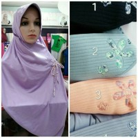 Jual Kerudung Hybrid V1 Rabbani / Hijab Fashion / Syar'i / Murah Murah