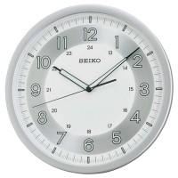 Jam Dinding Seiko QXA628S - Silver / Lumibrite