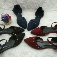 harga Flat Shoes Stud Tali / Sepatu Import Wanita Murah Tokopedia.com