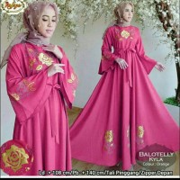 Baju Muslim / Gamis Syari Polos / Gamis Remaja Modern AkNafsya Fanta