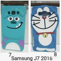 Case Doraemon 3D J7 2016  Silicon 3D case Samsung J710 T0310