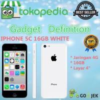 IPHONE 5C 16GB WHITE - 4G LTE - GARANSI PLATINUM 1THN