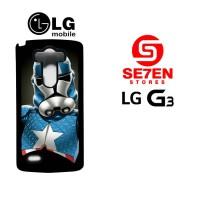 Casing HP LG G3 captain america stormtrooper Custom Hardcase
