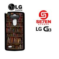 Casing HP LG G3 book lovers Custom Hardcase