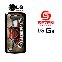 Casing HP LG G3 Arsenal Custom Hardcase