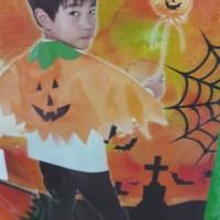 Jual Kostum Anak Baby Halloween Pumpkin/Labu Murah
