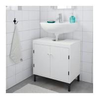 IKEA SILVERAN Kabinet Wastafel dengan 2 Pintu 60x38x51 cm  P T1310