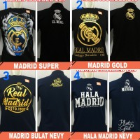 Kaos Distro Tshirt Bola Premium Fans Real Madrid Madridista El Real