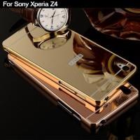 CASING HP MIRROR BACK COVER CASE SONY Z3+ / Z4