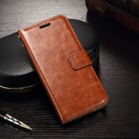 CASING HP FLIP WALLET LEATHER SAMSUNG GALAXY S6