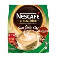 Nescafe Ipoh White Coffee Hazelnut Gao Siew Dai Kopi Instan 15 Stick