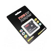 SUPER HEMAT Rajawali Memory Card Adapter SDHC to Compact Flash CF