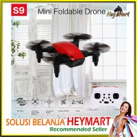 Jual Drone Lipat Pemula S9 One Key Return Foldable Murah Mini Spark Murah