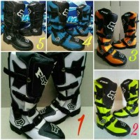 sepatu motor cross mx fox touring trail trabas boot boots alpinestars
