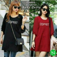 Mini Dress SS #43508esprit HITAM JUMBO fit XXL