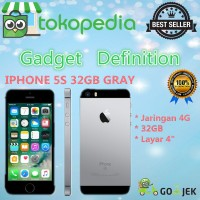 Apple Iphone 5s - 32gb - Grey - 4g Lte - Garansi Platinum 1thn