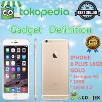 Apple Iphone 6 Plus - 16gb - Gold - 4g Lte - Garansi Platinum 1 Tahun