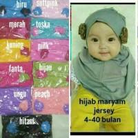 jilbab bayi/ jilbab anak maryam/ jilbab baby/ kerudung anak dan bayi