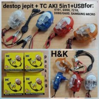 harga Charger Aki Plus Desktop Hk 5 In 1 Tokopedia.com