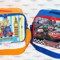 Souvenir mini koper/ lunch bag/ tas les custom anak
